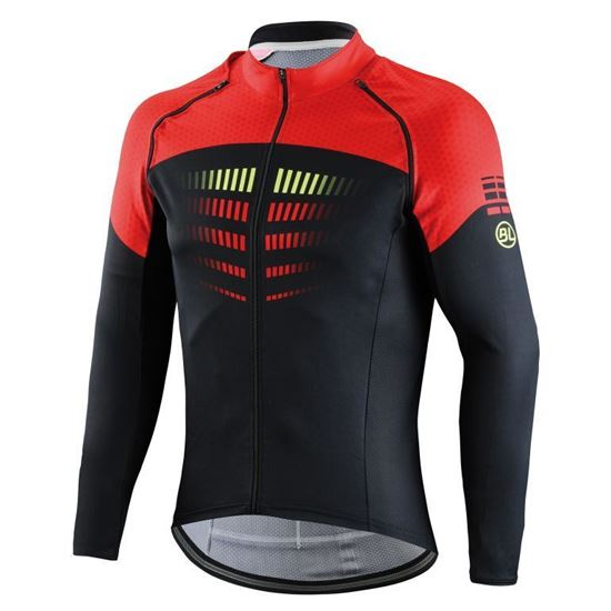 Picture of Long-removable sleeved jersey AERO 3.0 windproof