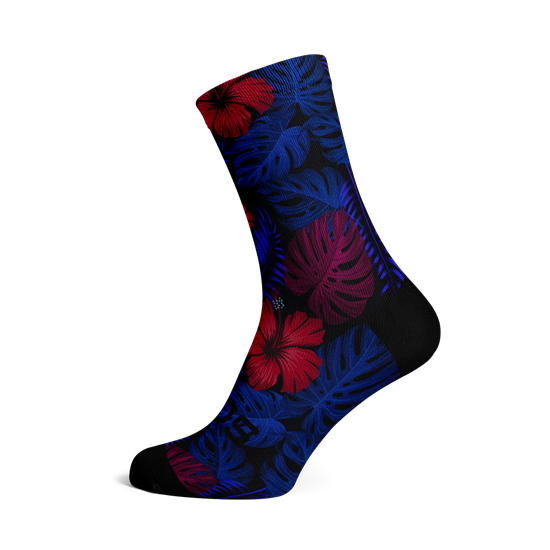 Picture of MIDNIGHT FOREST SOCKS