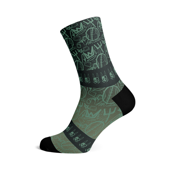 Picture of HASIE & THE ROBOTS STREET SOCKS